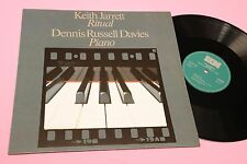 KEITH JARRETT DUETT LP RITUAL TOP ECM JAZZ