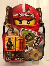 LEGO Ninjago Master Of Spinjitzu COLE DX Figure, Disc & Card MOC MIB GC