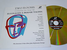 ELTON JOHN & BERNIE TAUPIN Two Rooms - Laser Disc LD