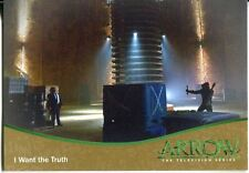 Arrow Season 1 Gold Parallel Base Card #31 I Want the Truth