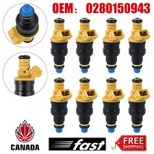 8X Fuel Injectors OEM 0280150718 For Ford F150 F250 F350 5.0 5.8 4.6 5.4L EV1 CA