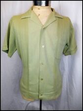 Cotton Blend Vintage Casual Shirts for Men