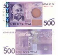 KYRGYZSTAN 500 Som (2010) P-28 UNC Banknote
