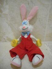 Disney Who Framed Roger Rabbit Soft Toy Bob Hoskins 28cm x 13cm