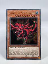 Yu-Gi-Oh! Millenium Ultra Rare - Slifer The Sky Dragon KICO-EN063 1. Auflage NEU