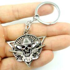 Creative Key Chain Ring Keyring alloy Keychain Gift Tool Skull headl Pendant K16