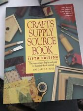 Crafts Supply Source Book. Fifth Edition. Margaret Boyd