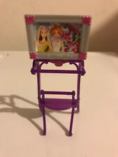 Barbie Bathroom Towel Rack with Tv Television Furniture Glam 2008