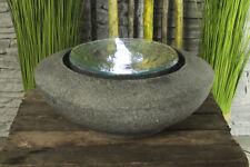 Springbrunnen Mirror mit LED Beleuchtung Zimmerbrunnen Design Brunnen