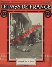 Le pays de France n°12 du 07/01/1915 ravitaillement alimentation armée Somme
