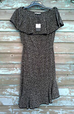 BNWT Jaeger Pure Silk Black Dress (UK Size 10) RRP £225