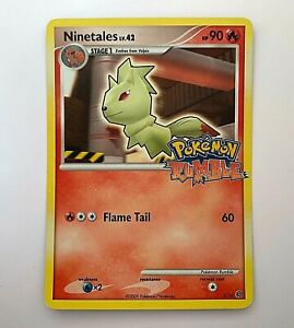 Ninetales 3/16 - Pokemon Rumble - Rare Promo 2009 - LP