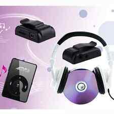 Cool Black Mini Clip USB Digital Mp3 Player Support 1-16GB SD TF Memory Cards