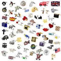 Novelty Classic Sports Animal Cufflinks for All Occasions 183 Designs to Choose