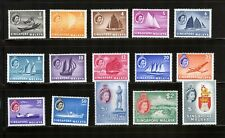 SINGAPORE MALAYA STAMPS QEII SCOTT 28-41 MNH CV $148 LOT 41