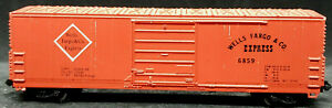 Life-Like N: WELLS FARGO & Co. EXPRESS #6859 RED BOXCAR, VINTAGE, RARE