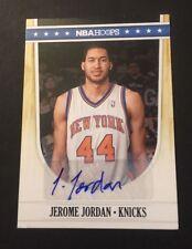 Jerome Jordan Knicks Tulsa 2012 NBA Cerceaux Original Signé Certifié JG7