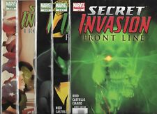 SECRET INVASION FRONT LINE #1-#5 SET (NM-) MARVEL COMICS SERIES