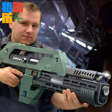 ALIEN WEAPON TOY M41-A PULSE RIFLE 1: 1ASSEMBLE DIY TOY 3D PAPER MODEL XMAS GIFT