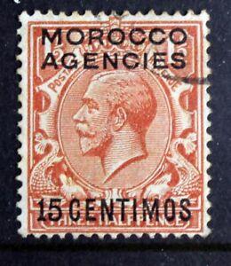 Morocco Agencies – 1925 15c - SG145 – Superb Used - Cat £23 – (R8)