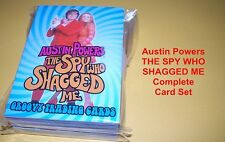 Austin Powers - The Spy Who Shagged Me - Complete Trading Card Set