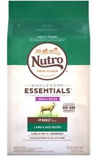 Nutro Feed Clean Small Bites Adult Lamb and Rice 5lbs