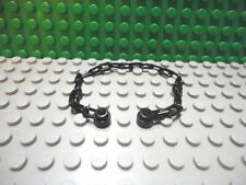 Lego mini figure 1 Black 21 link chain New