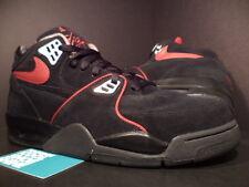 Nike Air FLIGHT 89 1989 A BLACK RED SILVER COOL GREY CHROME BRED 315793-061 13
