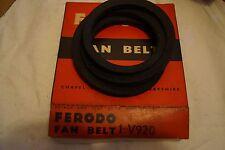 NEW OLD STOCK FERODO FAN Cintura-LAND ROVER SERIE II 1958-65 - gratis UK P+P