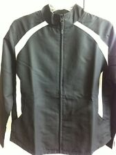 WOMANS RUSSELL ATHLETIC BLACK & WHITE JACKET SIZE MEDIUM NEW WITH TAGS