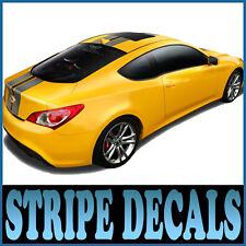 Body Stripe Decals Silver For 08 11 Kia Forte New Cerato