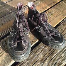 Converse All Star American Flag Hi Too Sneakers Mens 6 Womens 7 Black Red Blue