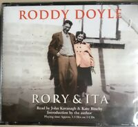 Rory & Ita - Roddy Doyle - 3 CD Set Audiobook - John Kavanagh - New And Sealed