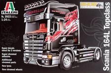 Italeri 3922 1/24 Scale Model Tractor Truck Kit SCANIA 164l Top Class