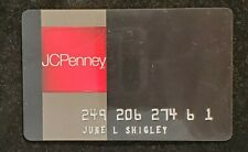 Jcpenney credit card♡Free Shipping♡cc1245