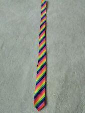 "Rainbow ""Pride"" Tie Unbranded L-12"