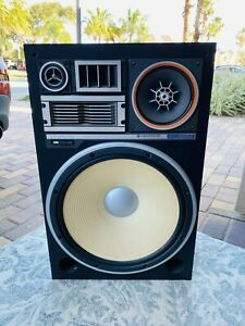 KENWOOD KL-999Z 5 way Speaker System Tested and Sounds Amazing !!  Shipping
