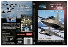 "F-22 The Raptor ""Air Dominance""  Military-Fighter Aircraft Jet Video DVD"