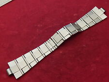 GENUINE BVLGARI SOLID STEEL DIAGONO SCUBA PROFESSIONAL 22MM STRAP BAND BRACELET