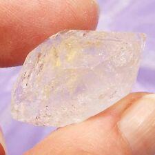 Rare double terminated Window Quartz crystal, Mexico 10g SN8566