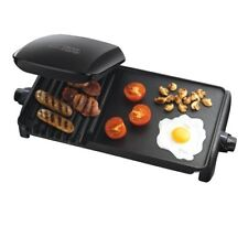 Brand New George Foreman 10-Portion Grill and Griddle 18603 (50/60 Hz) - Black