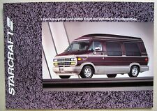 Prospekt Chevrolet Van G20 STARCRAFT FGT-1 FSL-1 FSL-2 MJ 1994 brochure deutsch