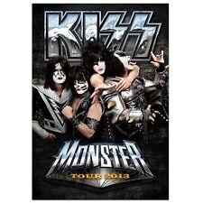 KISS Monster Tourbook Europe 2013 Tour Program