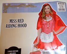 Costumes Usa Miss Red Riding Hood Halloween Costume Junior Girls 11-13