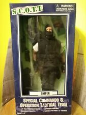 "SCOTT Special commando operational & tactical team 12"" action figure ""Sniper"""