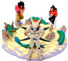 Very Rare! DBGT Dragon Ball GT DVD Diorama PVC Figure SS4 Goku Vegeta Ishinron
