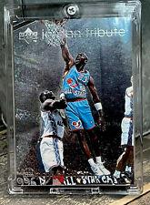 Michael Jordan Card - SP - RARE - ALL STAR - FOIL HOLO INSERT - BULLS JERSEY #23