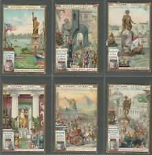 LIEBIG - FAMOUS COLOSSI (STATUES)  - FULL ORIGINAL SET OF 6 FROM 1906