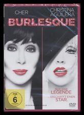 DVD BURLESQUE - CHER + CHRISTINA AGUILERA + PETER GALLAGHER + STANLEY TUCCI *NEU