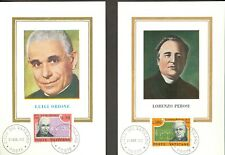 Vatican City Sc# 526-7: Luigi Orione and Lorenzo Perosi on 2 Maxi Cards